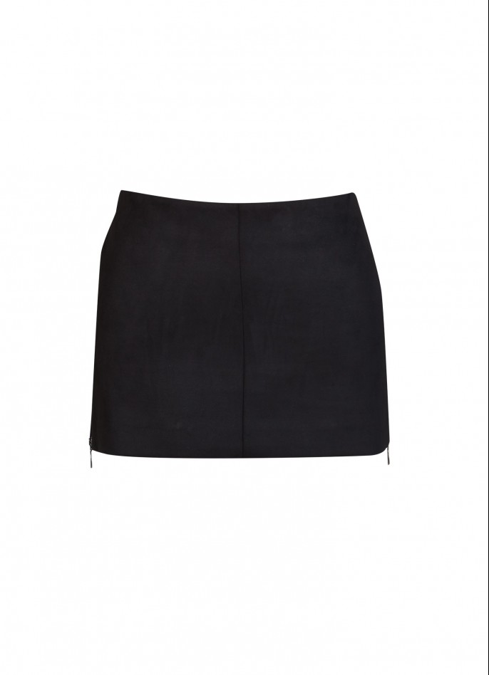 ULTRASUEDE MINI SKIRT