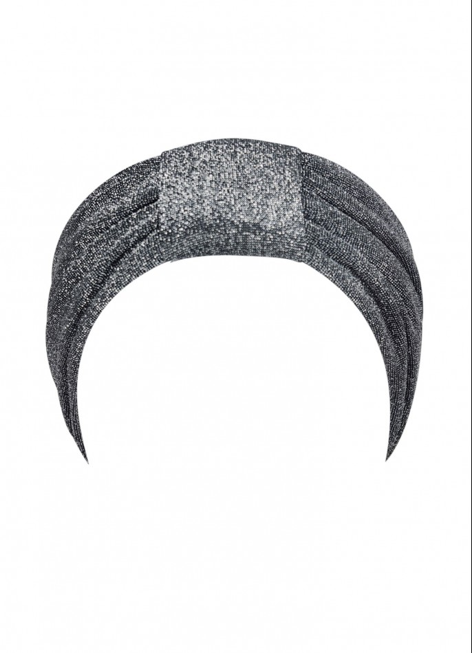 SILVER METALLIC HEAD BAND